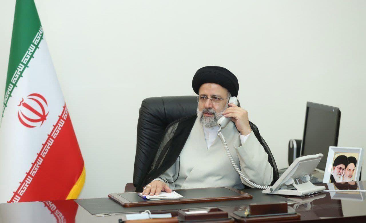ابراهیم رئیسی با رئیس جمهوری فرانسه تلفنی گفتو گو کرد
