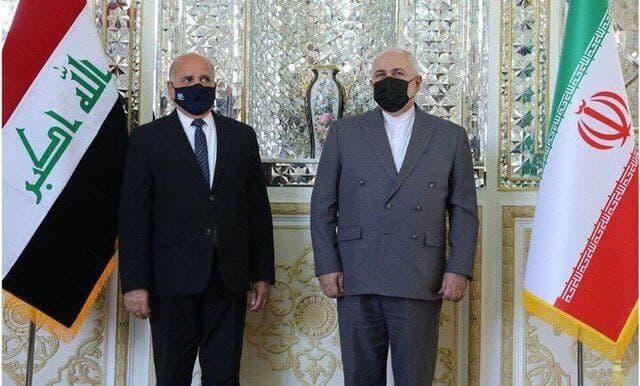 دیدار وزیران امور خارجه ایران و عراق در تهران