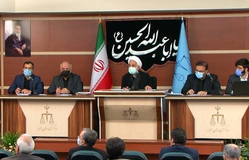 رئیس دستگاه قضا: متهم ابتدا حق مردم را بدهد بعد به مجازات برسد
