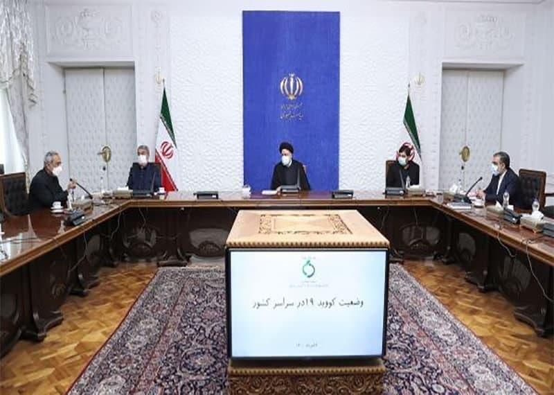 رئیس جمهور در جلسه کمیتههای تخصصی ستاد ملی مقابله با کرونا: