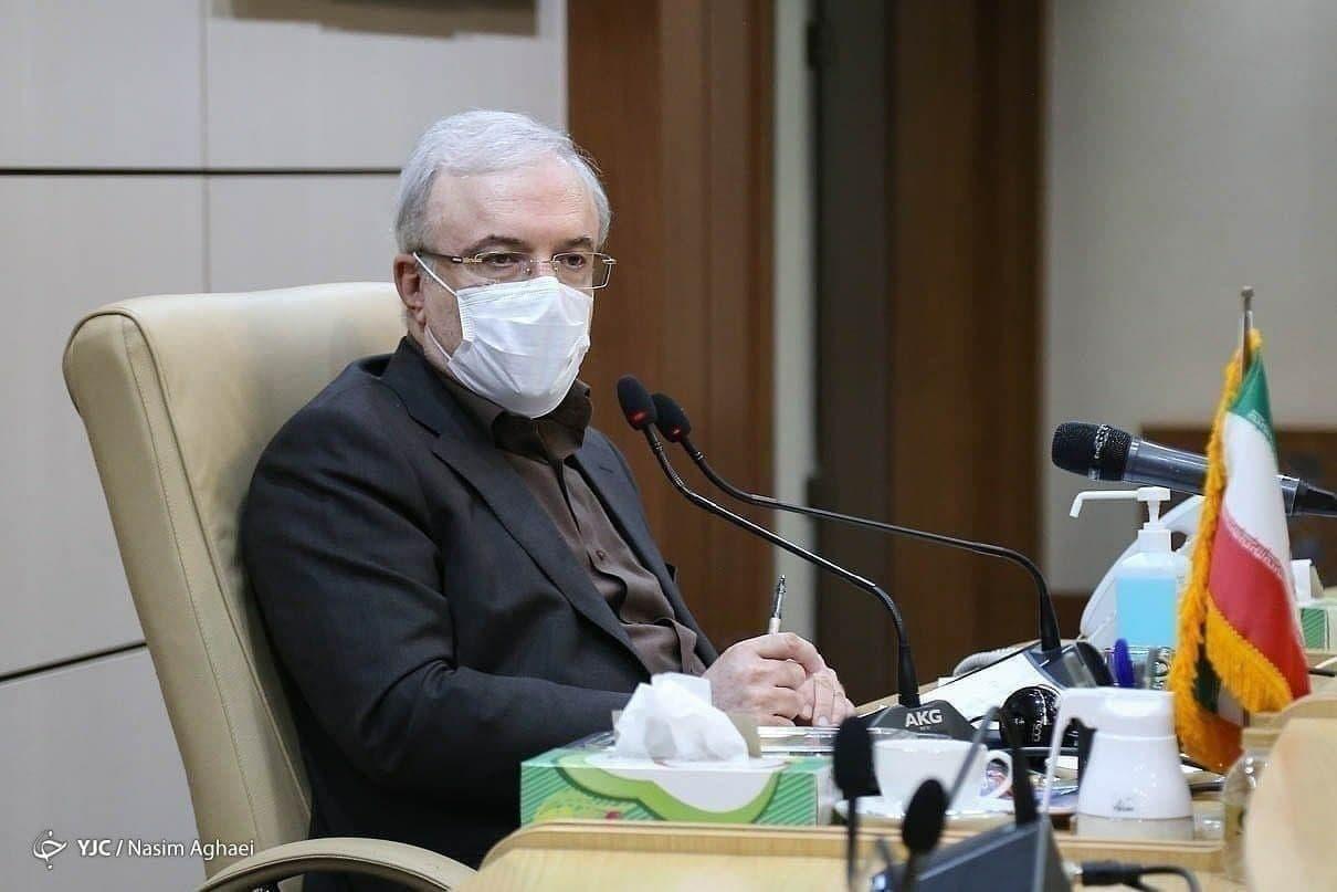 وزیر بهداشت دستور آغاز واکسیناسیون خانوادههای مدافعان سلامت را صادر کرد