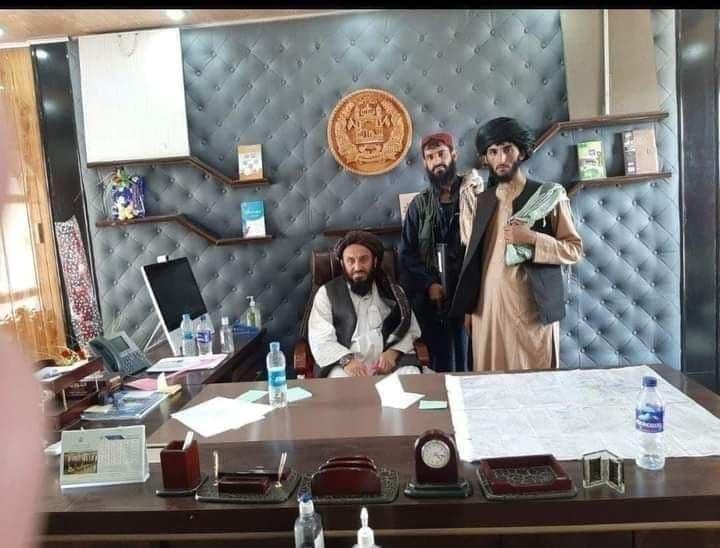 تصویر منتشر شده از حضور طالبان در ساختمان ریاست جمهوری افغانستان
