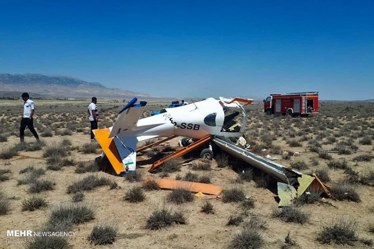 سقوط یک فروند هواپیمای آموزشی در ایران
