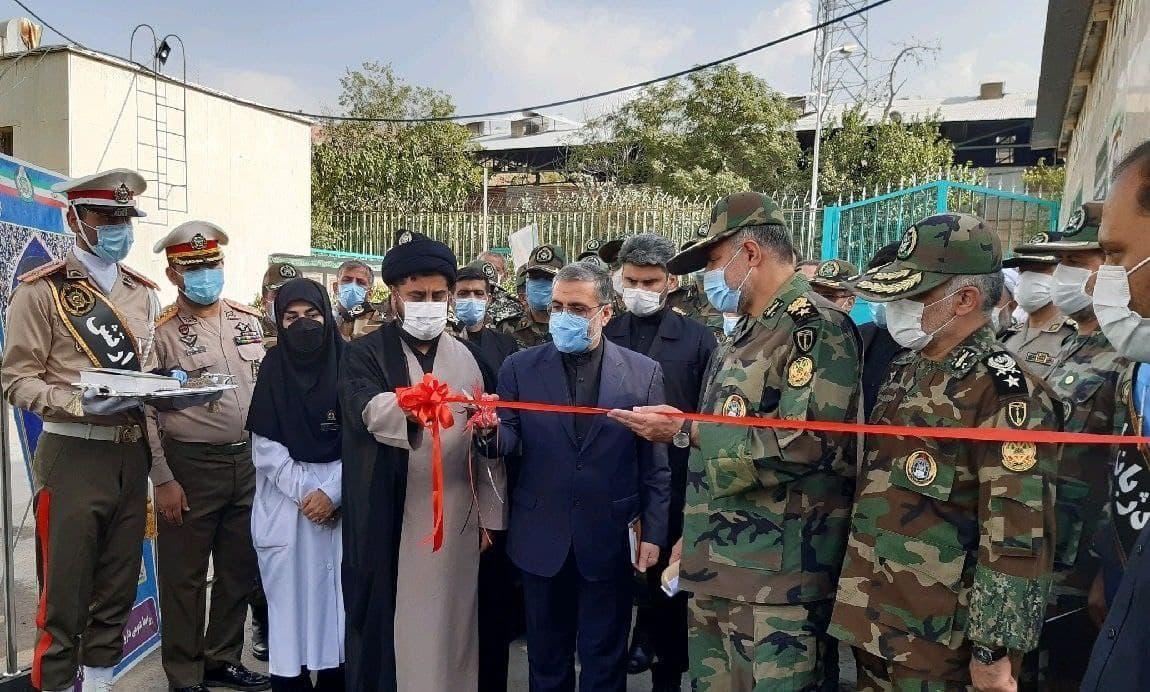 افتتاح داروخانه ویژه بیماران کرونایی در میدان حر