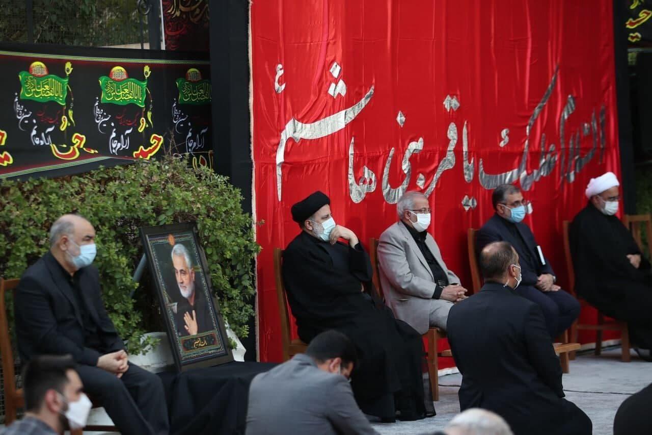 با حضور رئیسی برگزار شد؛ مراسم عزاداری روز تاسوعا در نهاد ریاست جمهوری