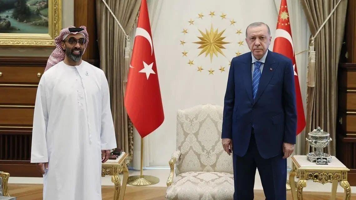 اردوغان با مشاور امنیت ملی امارات دیدار کرد