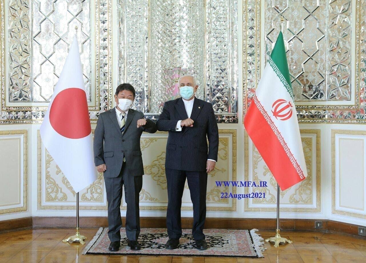 وزیر خارجه ژاپن با ظریف دیدار کرد