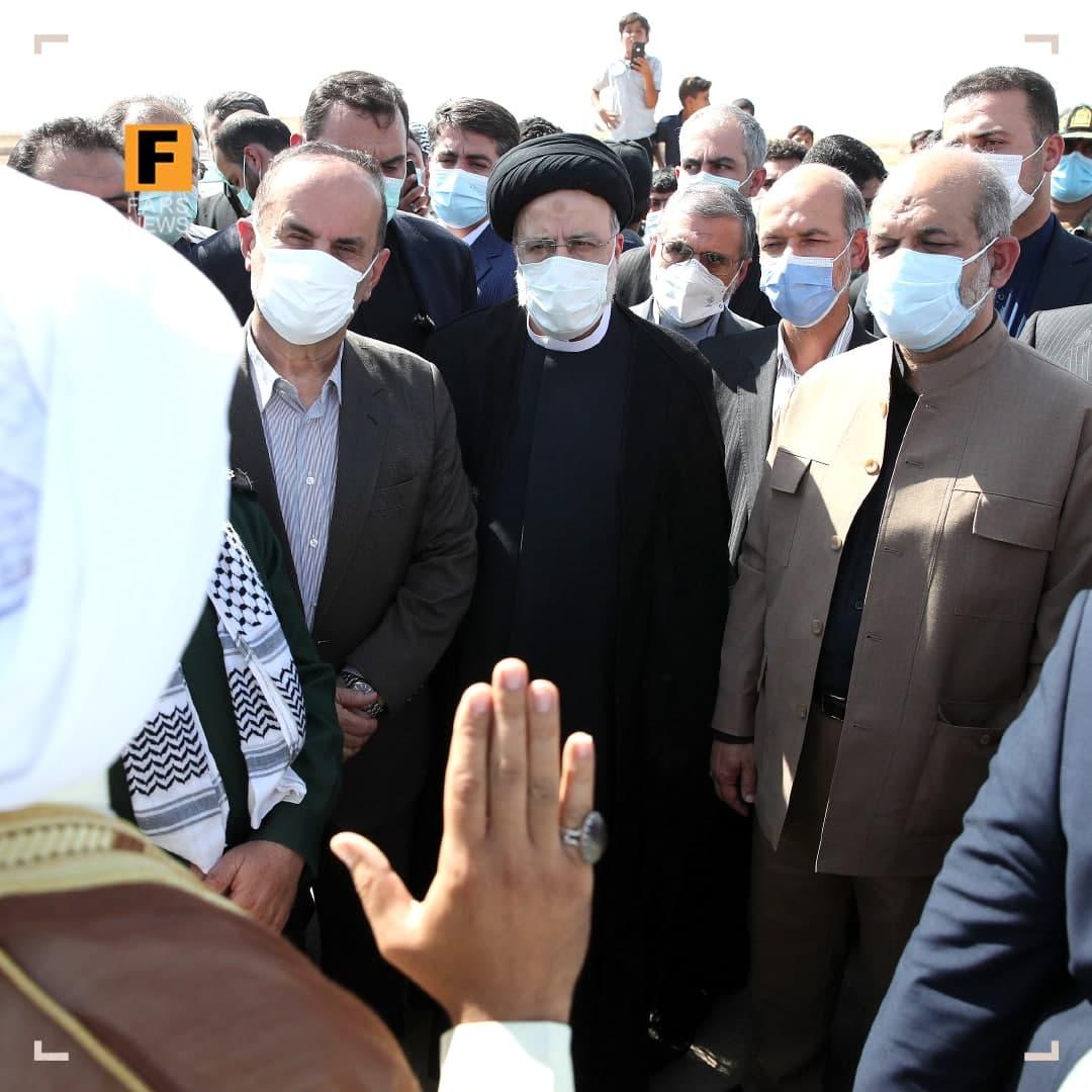 رئیسی: مدیریت آب در خوزستان غلط است