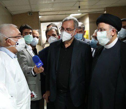ادعای تخلیه بیمارستان رازی قبل از بازدید رئیسجمهور تکذیب شد