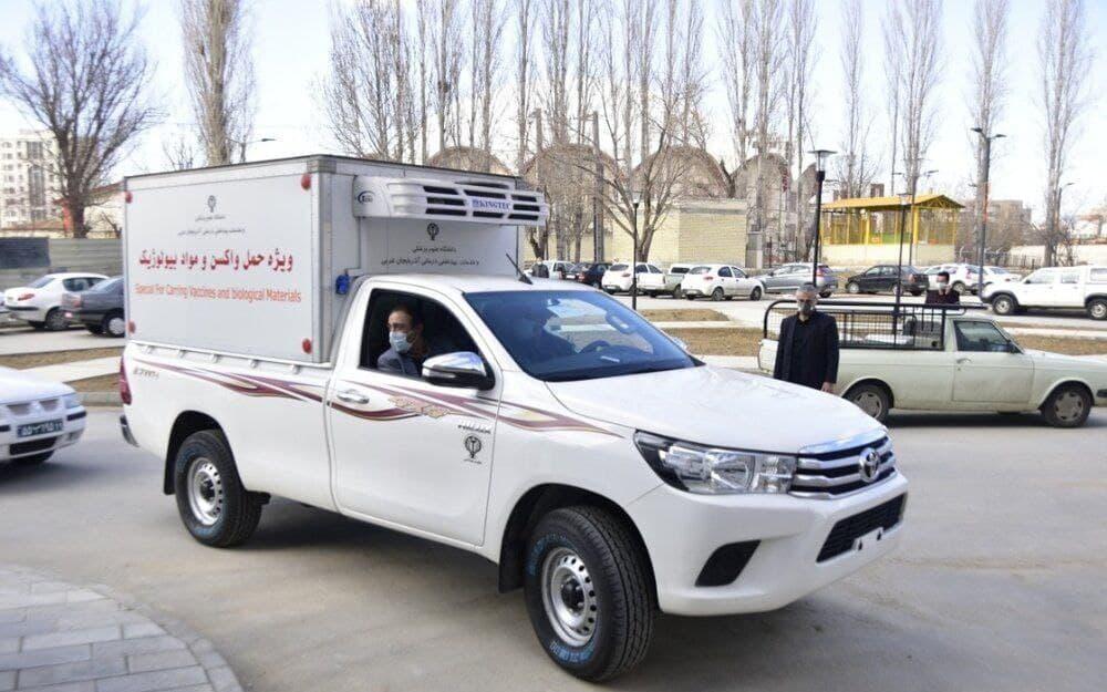 حمله دزدان به خودرو حمل واکسن در تهران!