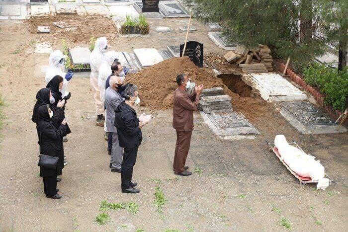 ۴۰ درصد متوفیان کرونایی کشور در بهشت زهرای تهران دفن شدهاند