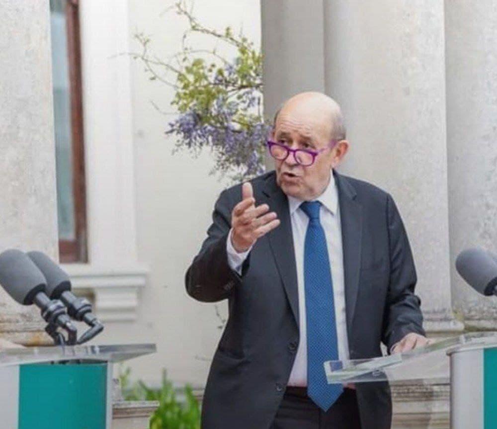 تماس تلفنی وزیر امور خارجه فرانسه با امیرعبداللهیان