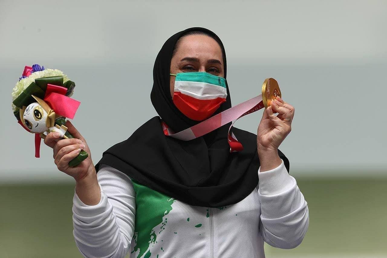 ساره جوانمردی پرچمدار ایران در اختتامیه پارالمپیک