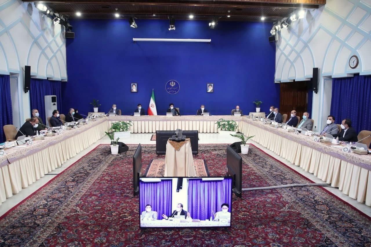 مصوبات امروز جلسه هیئت دولت به ریاست رئیس جمهور