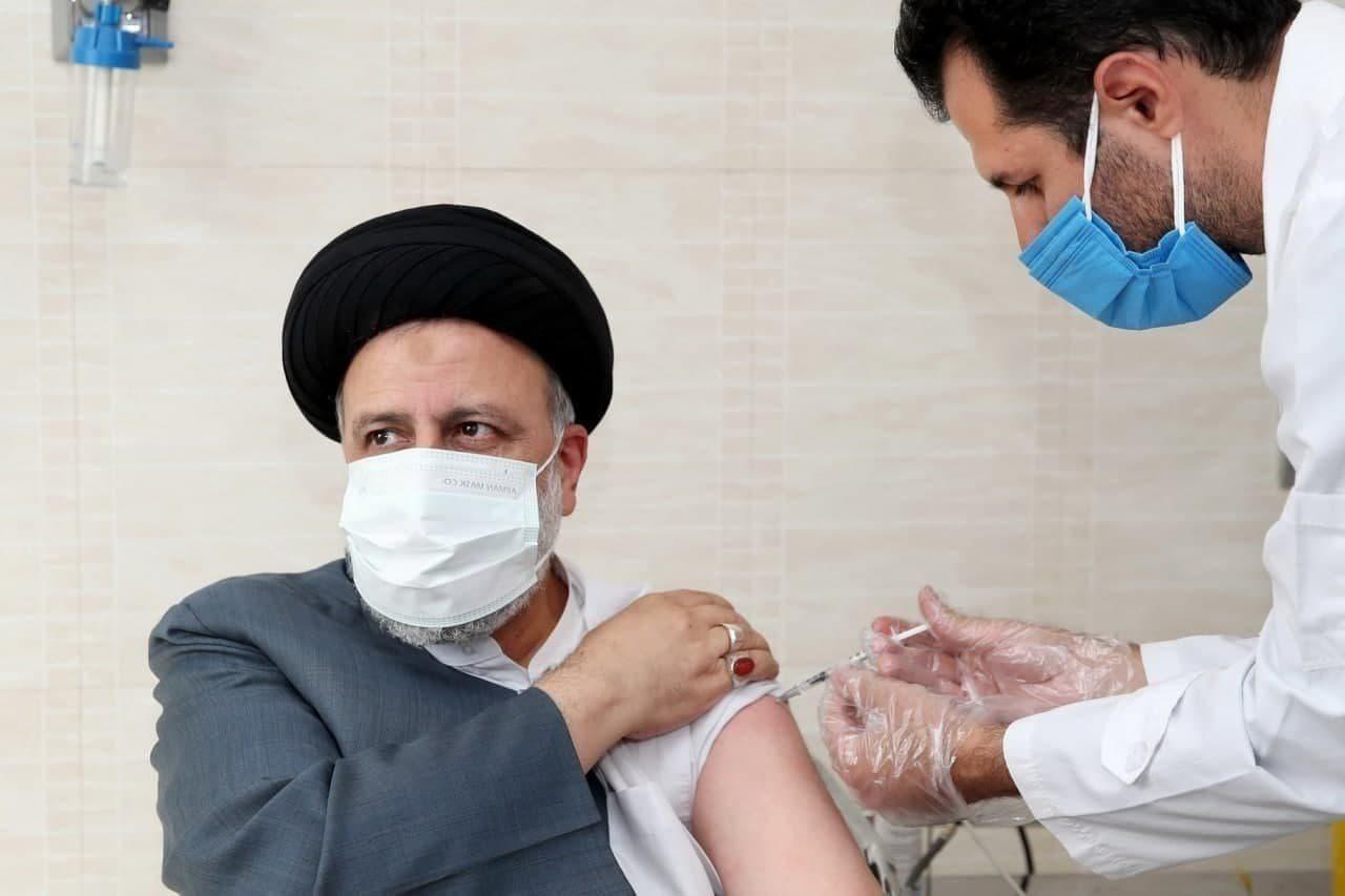 رئیسی دوز دوم واکسن ایرانی برکت را دریافت کرد