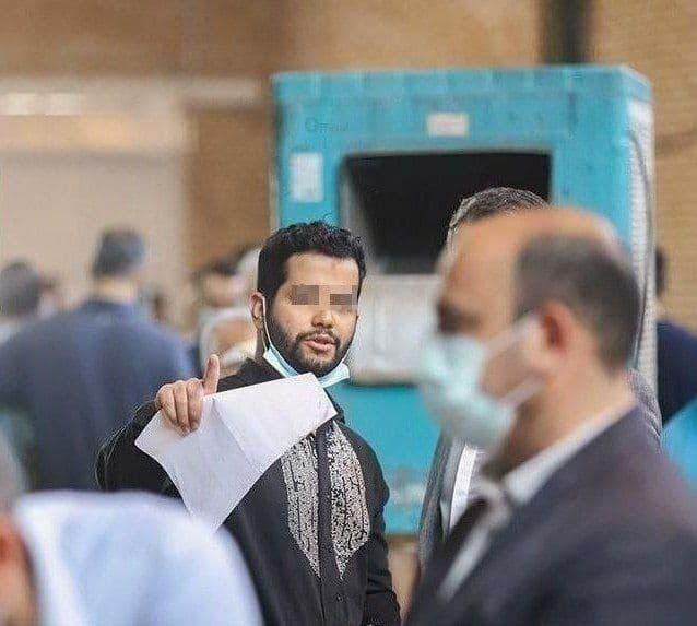 عکس جدیدی از صاحب استانبول در دادگاه
