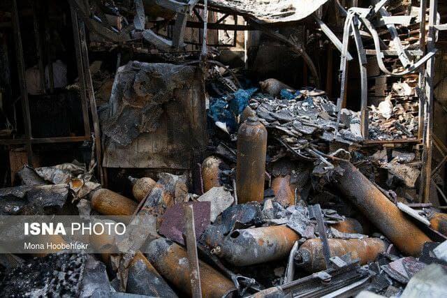سهل انگاری علت حادثه آتش سوزی کلینیک سینا مهر
