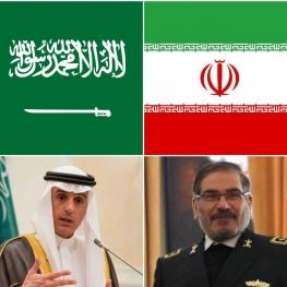 یدار عادل الجبیر و علی شمخانی در بغداد