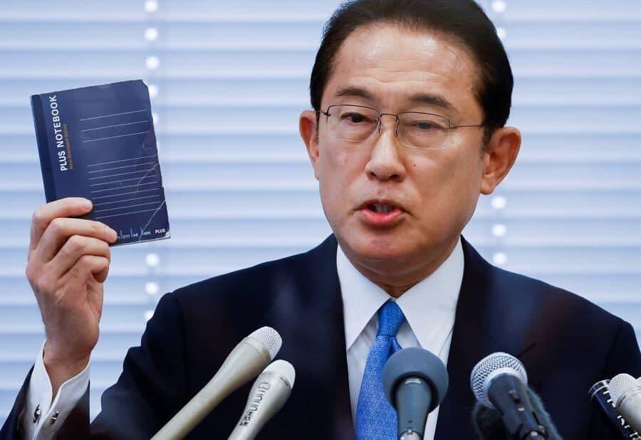 فومیو کیشادا رییس حزب حاکم بر ژاپن شد