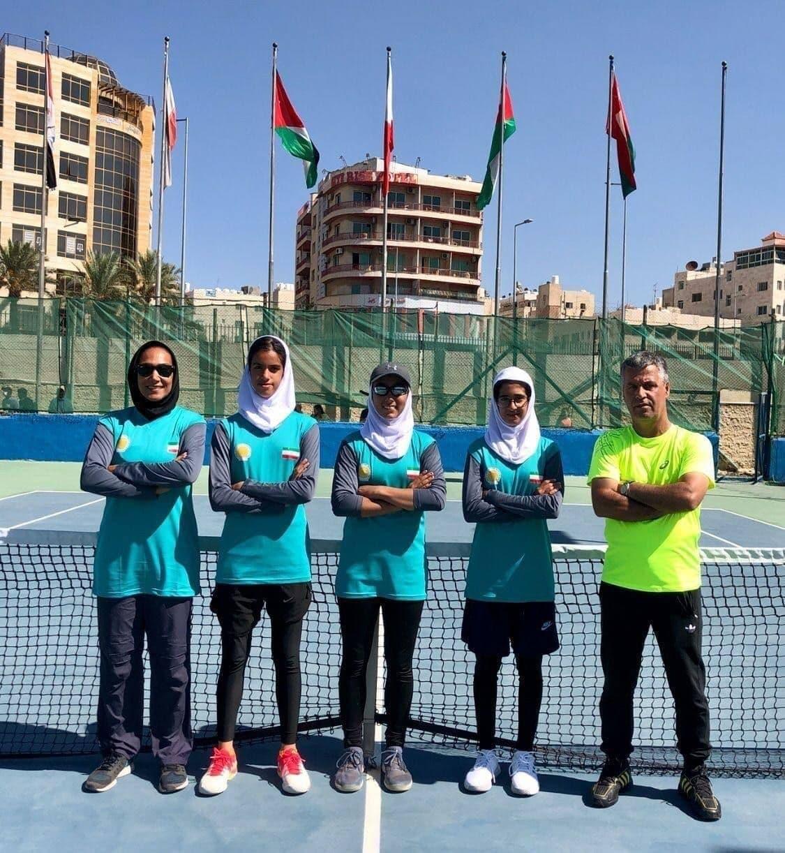 صعود دختران تنیسور ایران به قهرمانی آسیا قطعی شد