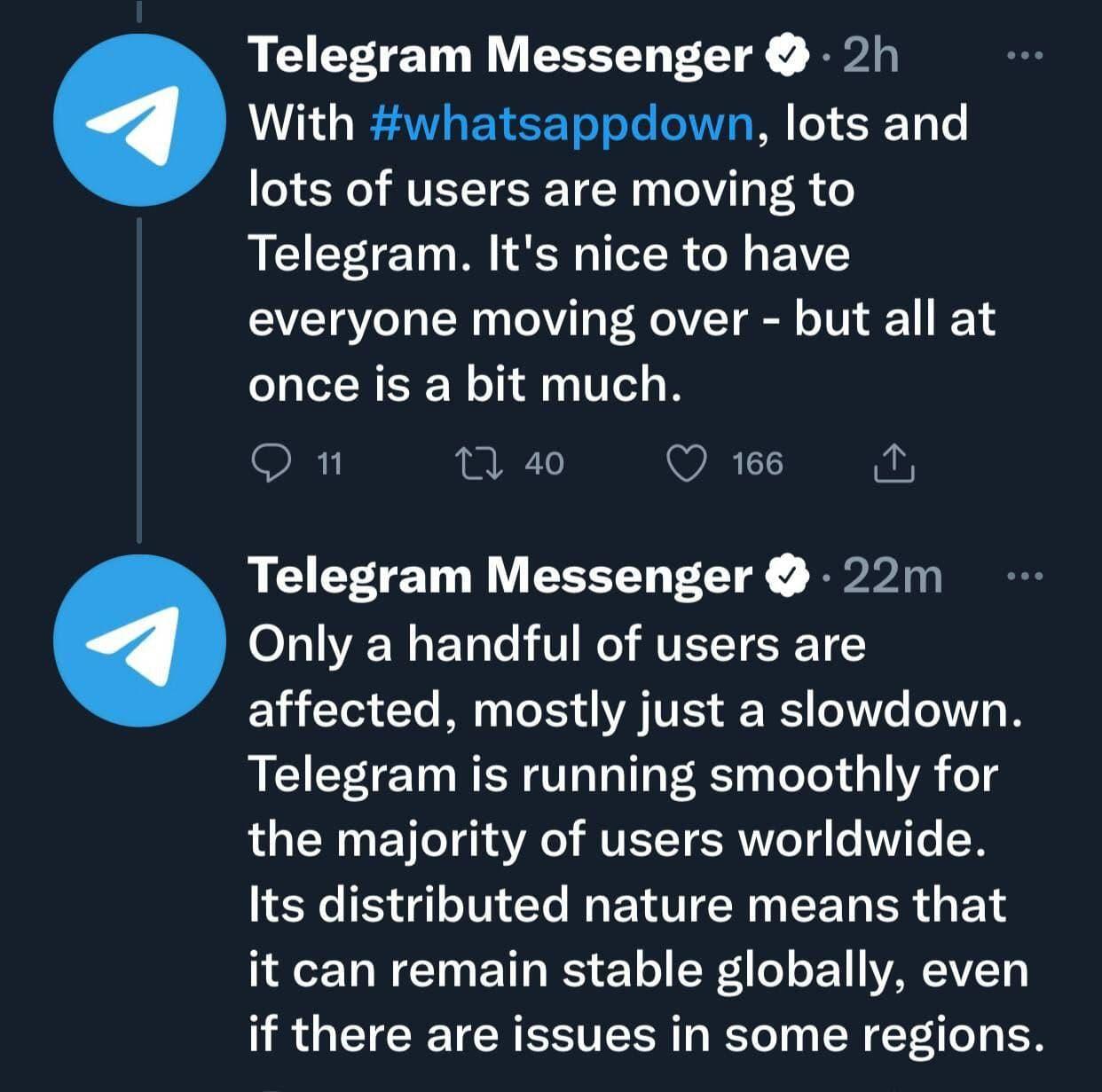 علت کندی تلگرام ثبتنام گسترده کاربران جدید اعلام شد