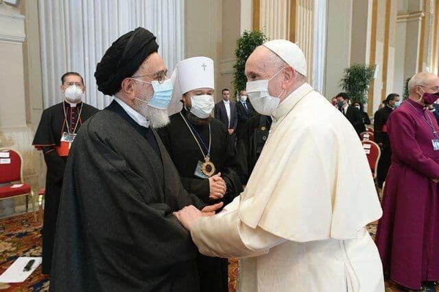 گردهمایی رهبران تمامی ادیان اصلی دنیا درباره مسائل مرتبط با تغییرات اقلیمی