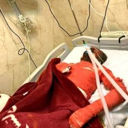 فرزند شهید یاسوجی که خودسوزی کرده بود درگذشت